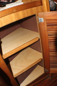 Hanging Locker Shelves