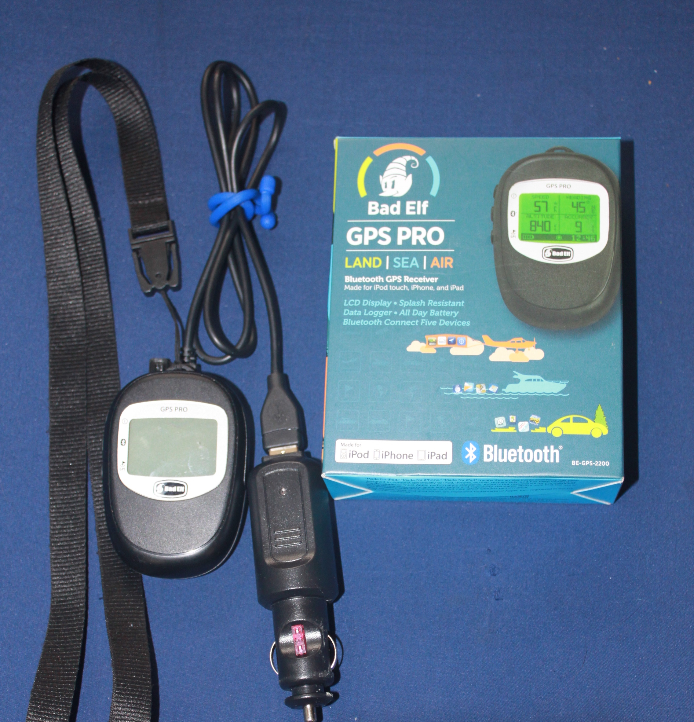 Review of the Bad Elf GPS Pro Bluetooth GPS Reciever - TinySails